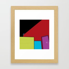 Fifth Floor Hangout Framed Art Print