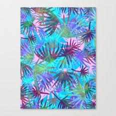 Tropicana - Blue Canvas Print