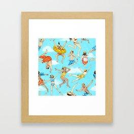 Pool Rats Framed Art Print