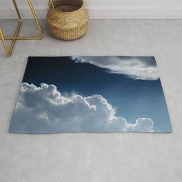 Sky, clouds and lights. Rug