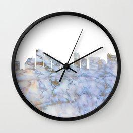 Atlantic City Skyline New Jersey Wall Clock