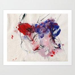 Digital Color  Art Print