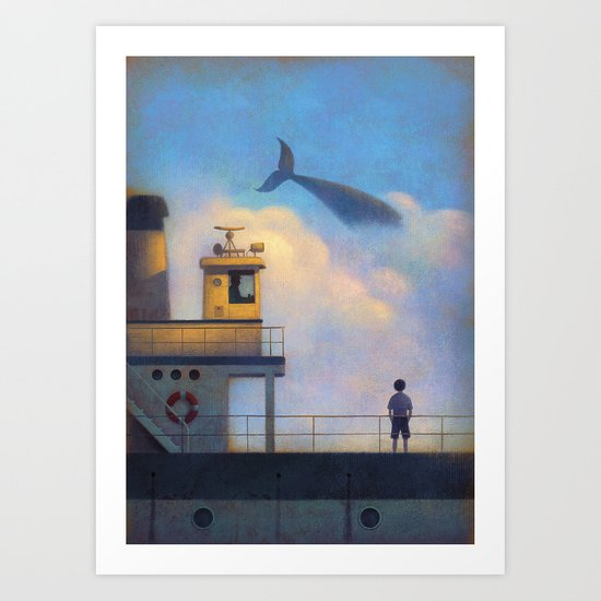Leaving Art Print