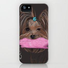 I love my Yorky iPhone Case