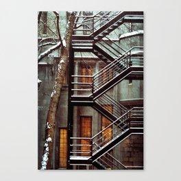 Structure Canvas Print