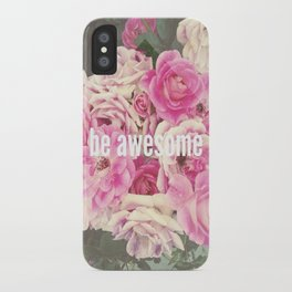 be awesome iPhone Case
