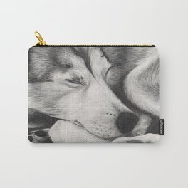 Sleeping Wolf Carry-All Pouch