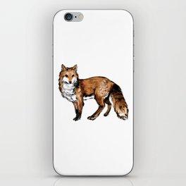 Brushed Fox iPhone Skin