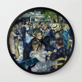 Pierre-Auguste Renoir Dance at le Moulin de la Galette Wall Clock
