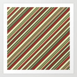 Just Stripes 4 Art Print