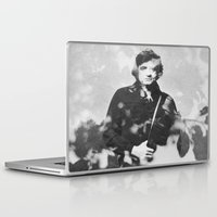johnny cash Laptop & iPad Skins featuring johnny cash by monicamarcov