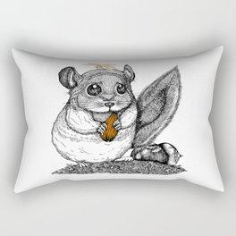 a little chinchilla Rectangular Pillow