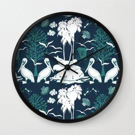 La Jolla California Beach Print Wall Clock