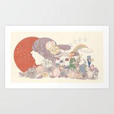 Sing for Japan Art Print