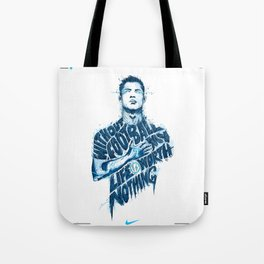 CR7 Juve Illustration HD Design Tote Bag