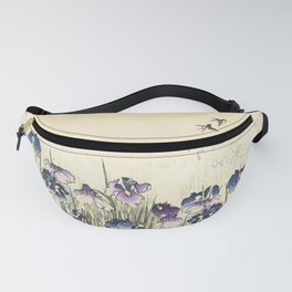 Iris meadow Fanny Pack