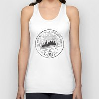 not all who wander Tank Tops featuring NOT ALL WHO WANDER ... by Matthew Taylor Wilson
