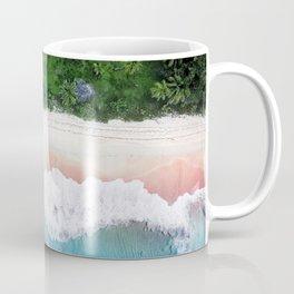 Aerial Tropical Beach Coffee Mug