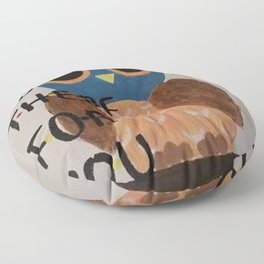 Owl Be There For You Floor Pillow