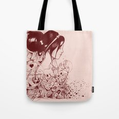 Fiction and Beauty Tote Bag