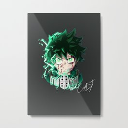 Deku by GAST Metal Print