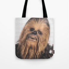 Chewbacca - StarWars - Pantone Swatch Art Tote Bag