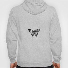 Minimalista borboleta 2 Hoody