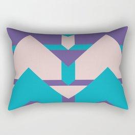Glow Way #society6 #glow #pattern Rectangular Pillow