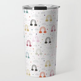 Count Your Rainbows Travel Mug