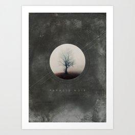 Paradis Noir Art Print