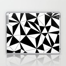 Geo - black and white Laptop & iPad Skin