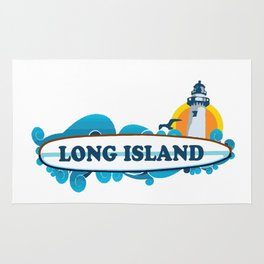 Long Island - New York. Rug