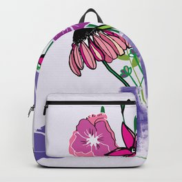 Kaitlyn's Floral Bouquet Backpack