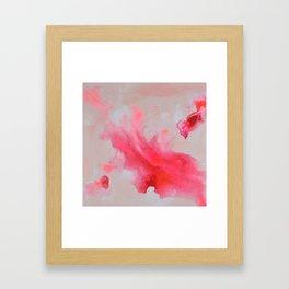 Rose Nebula Framed Art Print