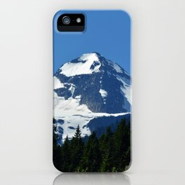 Twin Summits - Glacier Natnl Park Mountains, BC, Canada iPhone Case