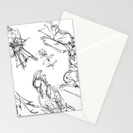 Birds at the Hamlins           by Kay Lipton Stationery Cards