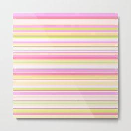 Stripe // GFT-Stripe002 Metal Print