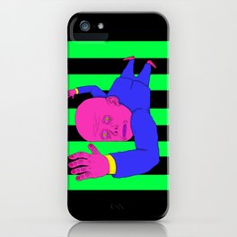 The Green Stairs iPhone Case