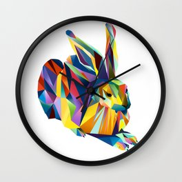 Hans Hase Wall Clock