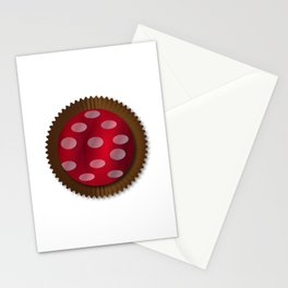 Chocolate Box Wrapped In Foil Stationery Cards