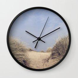 The Way To The Beach II Wall Clock