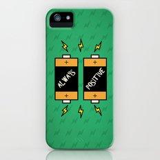 Always Positive Quotes Slim Case iPhone (5, 5s)