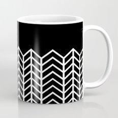 BLACK LACE CHEVRON Mug