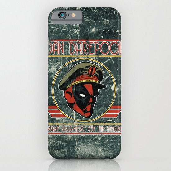 Dan Darepool: Insane Ninja-Merc of the Future iPhone & iPod Case