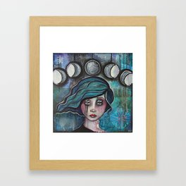 It's Just A Phase Framed Art Print