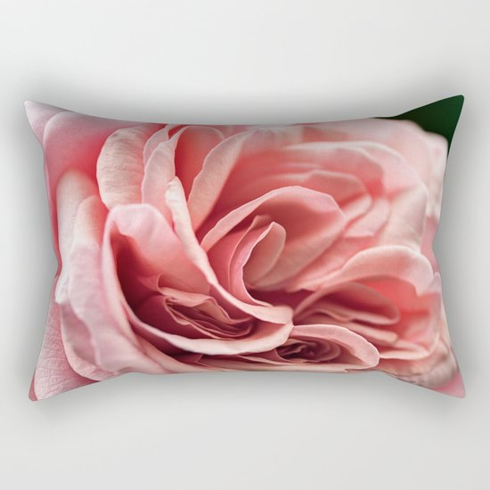 my rosebud Rectangular Pillow
