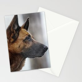 A German Shepherd Stationery Cards