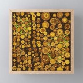 Glitter Grunge Framed Mini Art Print