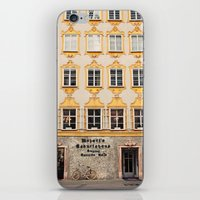 mozart iPhone & iPod Skins featuring Mozart Residence  by Laura Ruth