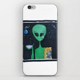Breakfast in Space iPhone Skin
